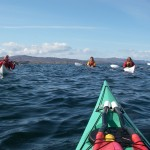 A great day for Sea-kayaking in Scotland